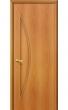 Межкомнатная ламинированная дверь 5Г миланский орех